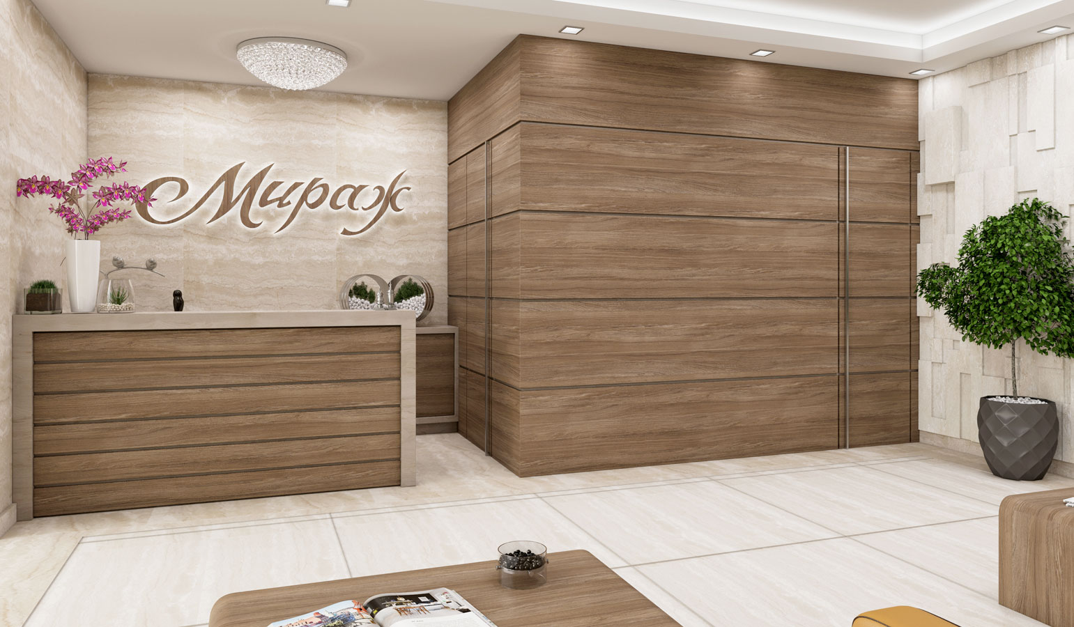 Mirage: interior by - Vip Residence Club