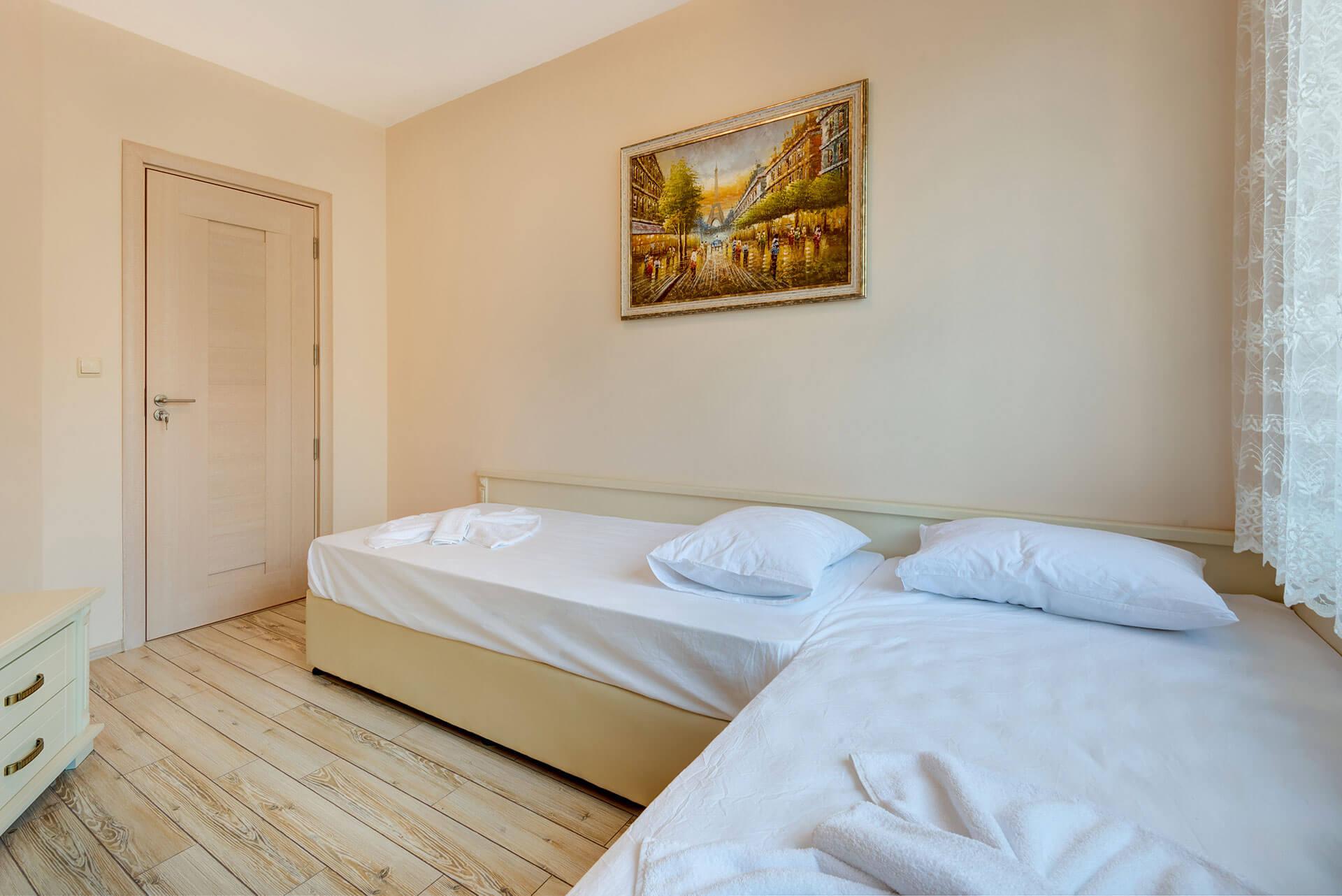 Апартамент с 2 спални, под наем в комплекс Артур, гр. Свети Влас